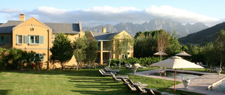 Franschhoek Country House View